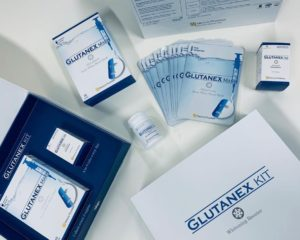 Glutanex Whitening Mask Booster Kit